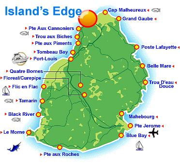 Location de villas luxueuses en bord de plage à l'Ile Maurice