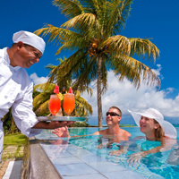 villa infinity with chef in mauritius